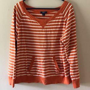 Chaps Denim Boatneck Sweater